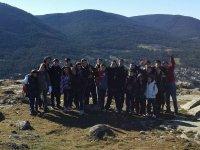 Grupo en el monte