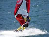 Windsurfing with the best materials