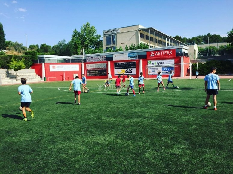 Football campus in Barcelona