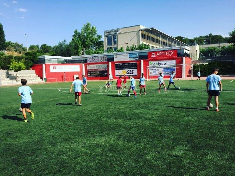 Campus de futbol en Barcelona