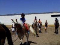 Peque营hipica骑马的经验教训