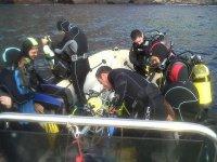 独木舟个人潜水装备野生动物