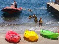 Kayaks a corta edad