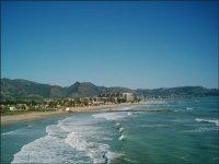 Playas de Castellon desde el aire