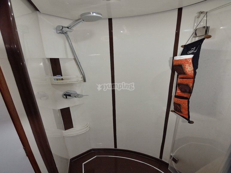 Toilet on the bow