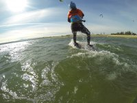 Curso de kitesurf en la Isla de Arosa 2 horas
