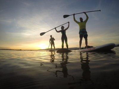 Curso de Paddle Surf en la Playa de Boa Pontevedra