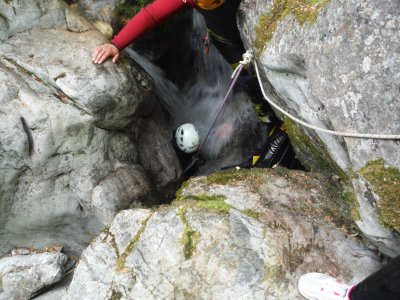 Canyoning Medium Level in the Picos de Europa.