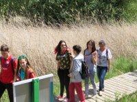 Nuestros alumnos durante la actividad