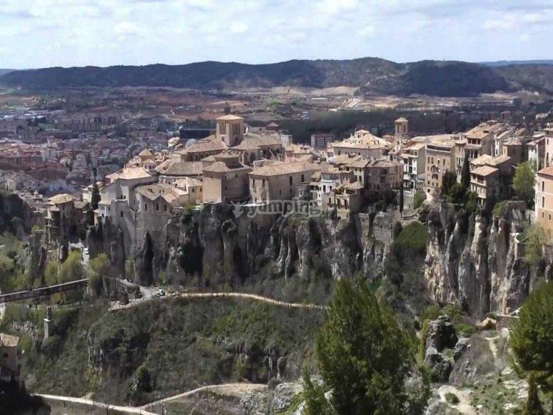 Cuenca barrio del castillo