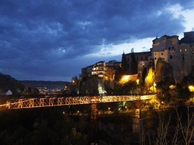 Nocturnal visit, medieval Cuenca