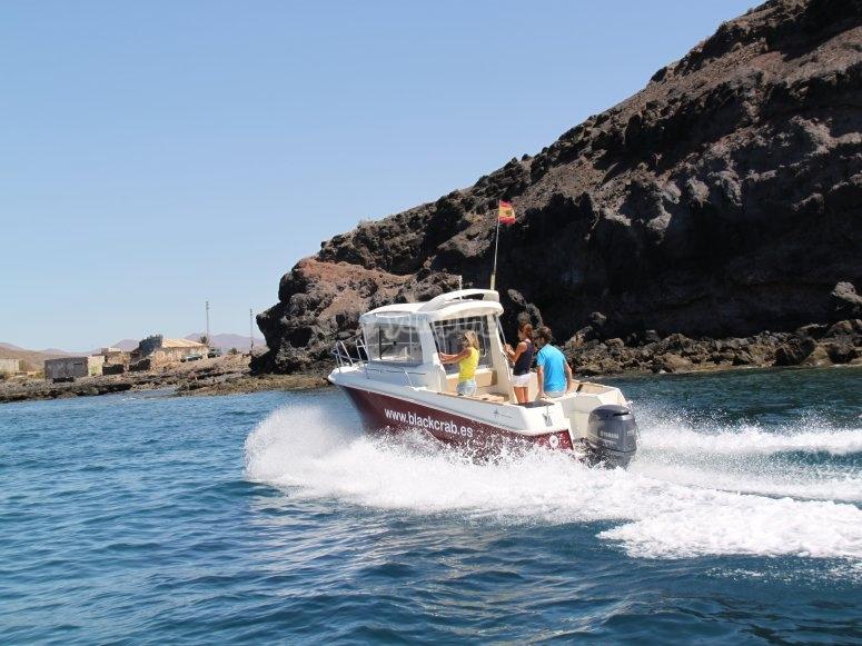 沿海旅游探索富埃特文图拉岛
