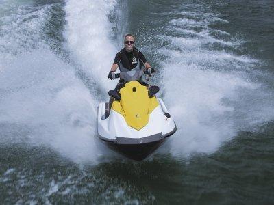 Ruta guiada en moto acuática por Gran Canaria