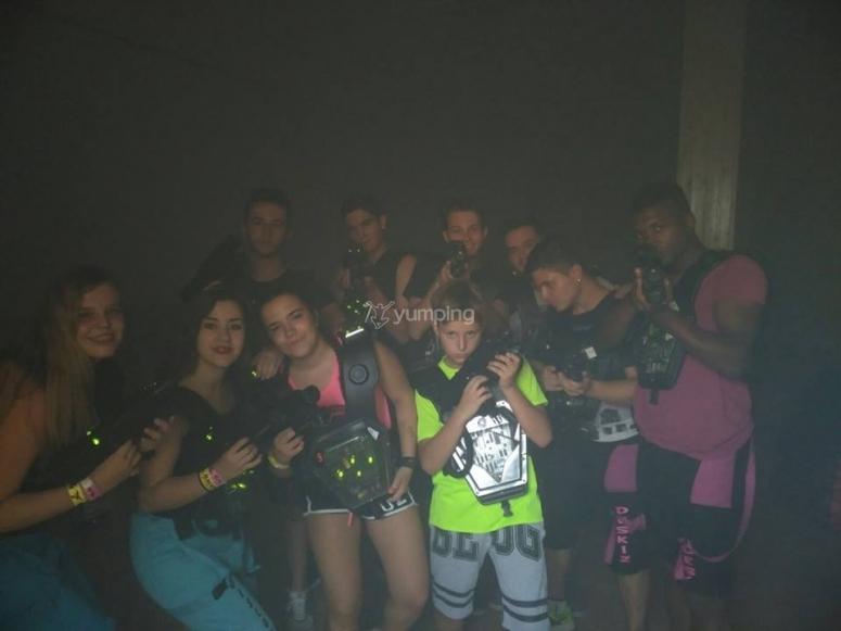 Grupo de laser tag