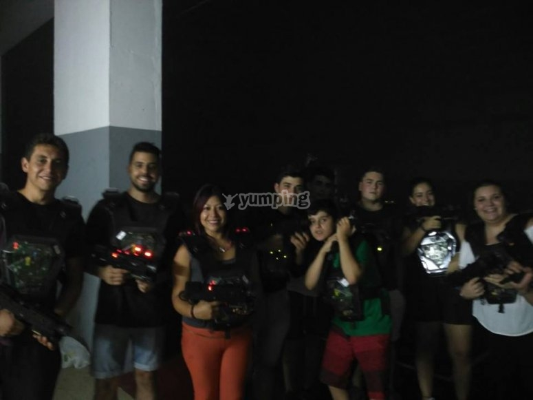 Laser tag en Zaragoza