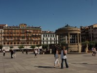 Pamplona Castle Square