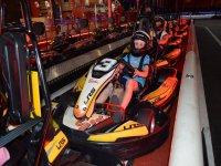 Pilotos de karting infantil
