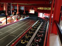 Pista de karting indoor en Sevilla