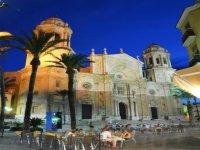 Plaza de la Catedral de Cadiz