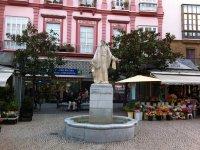 Plaza gaditana de las Flores