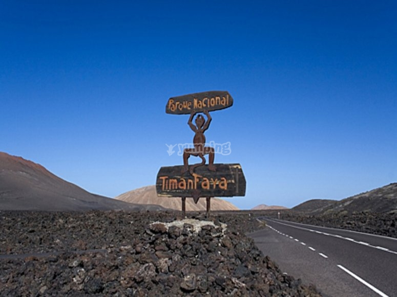 Carretera Timanfaya