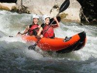 Kayak y barranquismo en los pirineos de Lleida