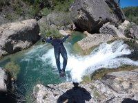 Barranquismo en el río Jucar Cuenca 3 horas