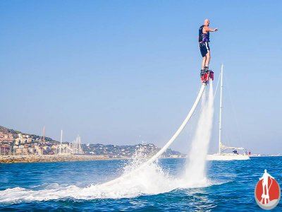 Flyboarding in Castelldefels, half an hour