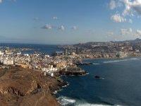 加那利群岛的帆船游览4小时
