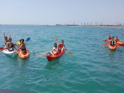 Bautismo de kayak en Canet d'en Berenguer