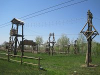 multi-adventure wooden park in Zaragoza
