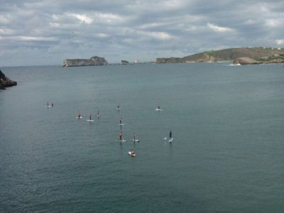 Curso de paddle surf en Suances 2 horas