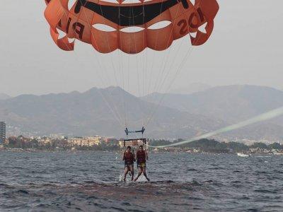 Jet boat parascending y jetski para 2 Torremolinos