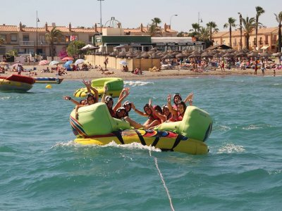 Jet boat, parascending, aquarocket y jetski Málaga