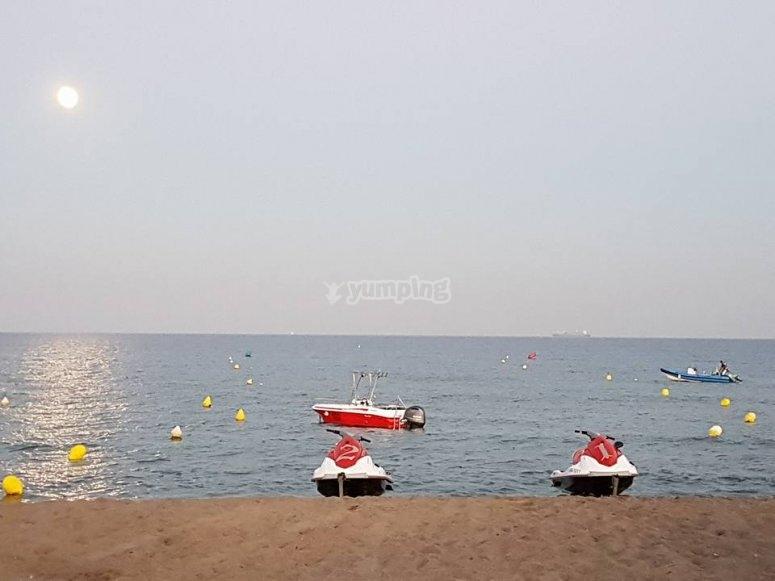水上摩托艇沙