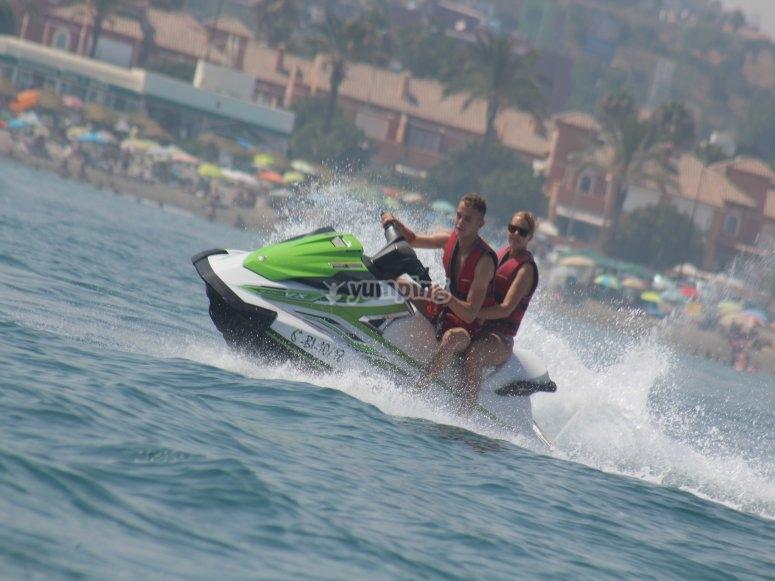 水上摩托艇2人