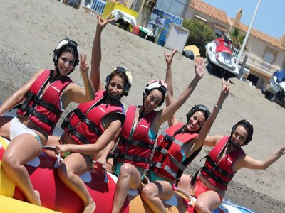 Adventure Package w. 4 Inflatables in Torremolinos