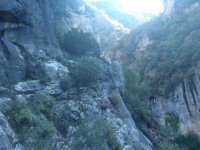 Pinsapar内华达在崎岖的景观活动区