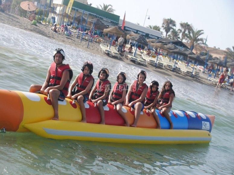 Banana boat nel gruppo Torremolinos