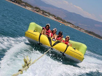 Banana Boat and Aqua Rockets in Torremolinos