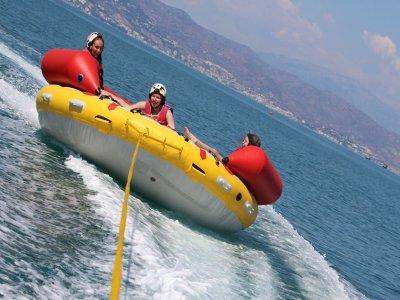 Banana boat y slydsit en Torremolinos para uno