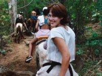 Paseando a caballo en Grazalema