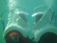 Andando por el fondo del mar