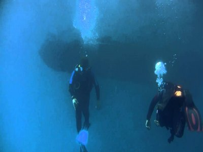 Diving baptism in Benidorm