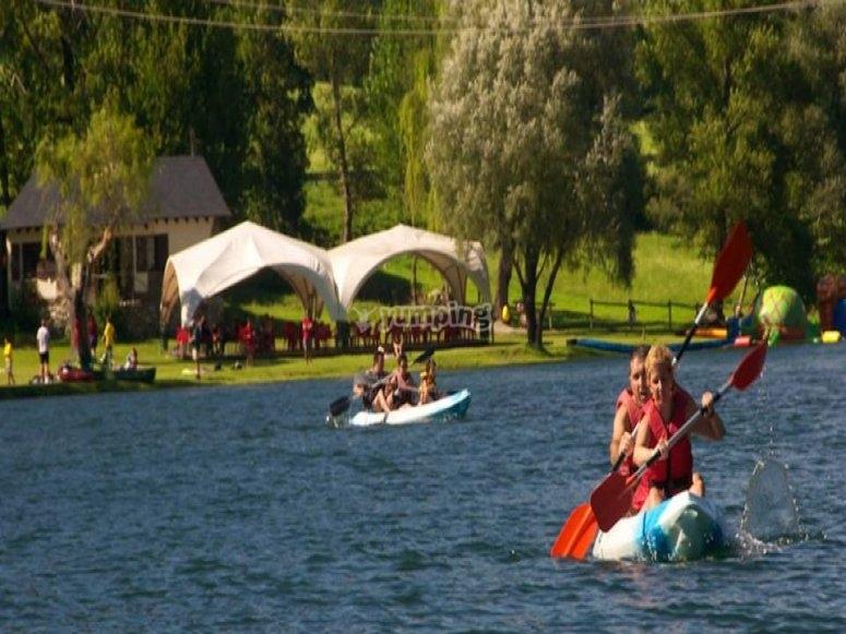 Kayak aperto