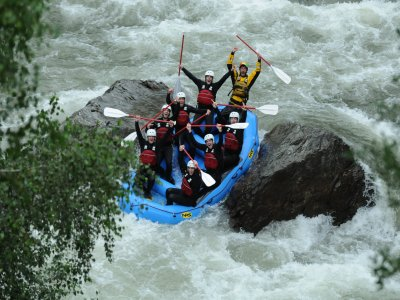 Rafting and canyoning in Noguera Pallaresca