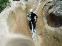 Canyoning mid-level in Viu de Llevata