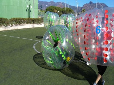 Bubble Soccer Fútbol Burbuja Valencia