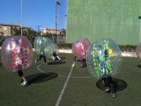 nada como el bubblesoccer