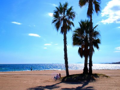 Sailing boat Torrevieja for two people, 3h